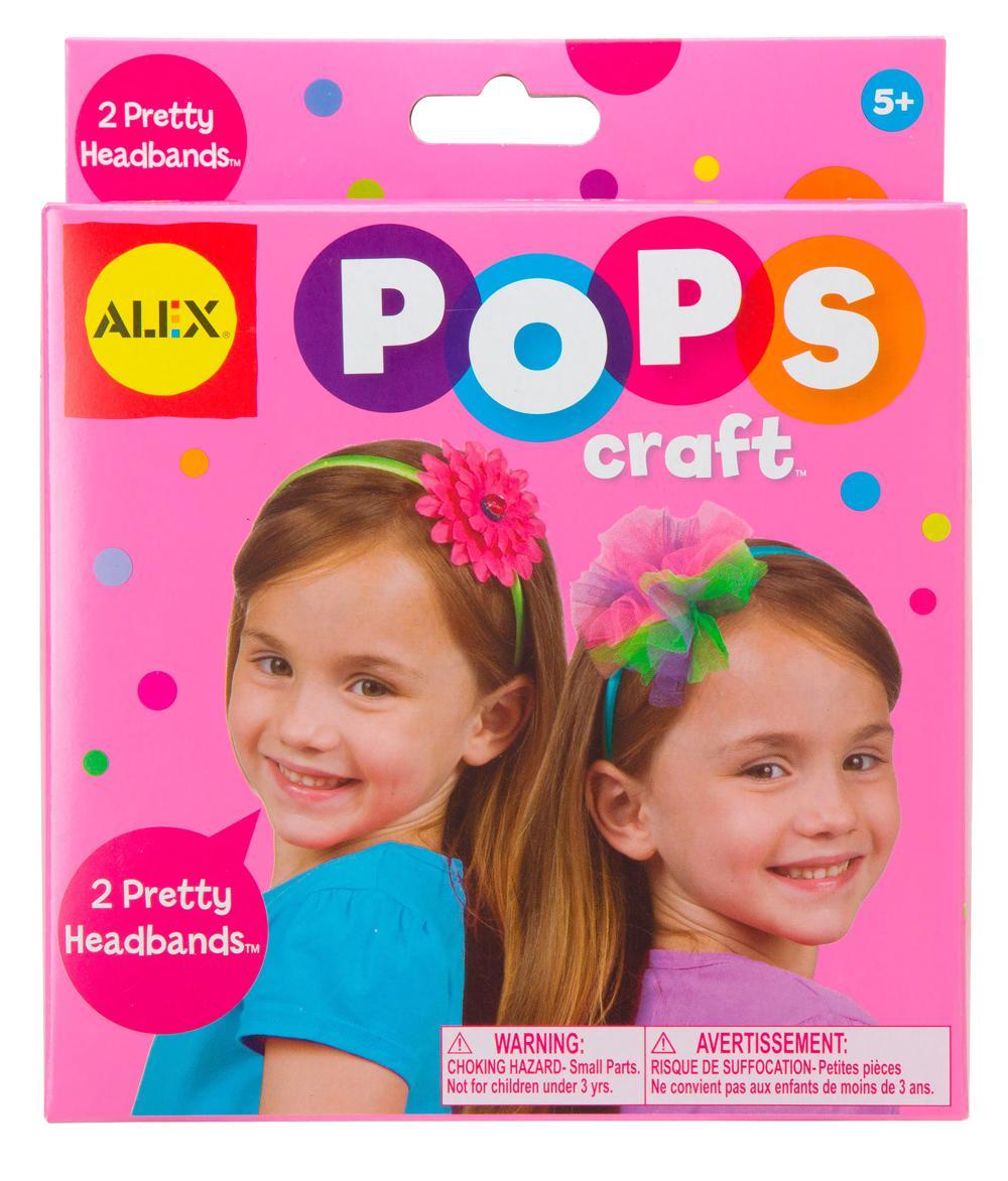 Alex - Pops craft 2 pretty headbands
