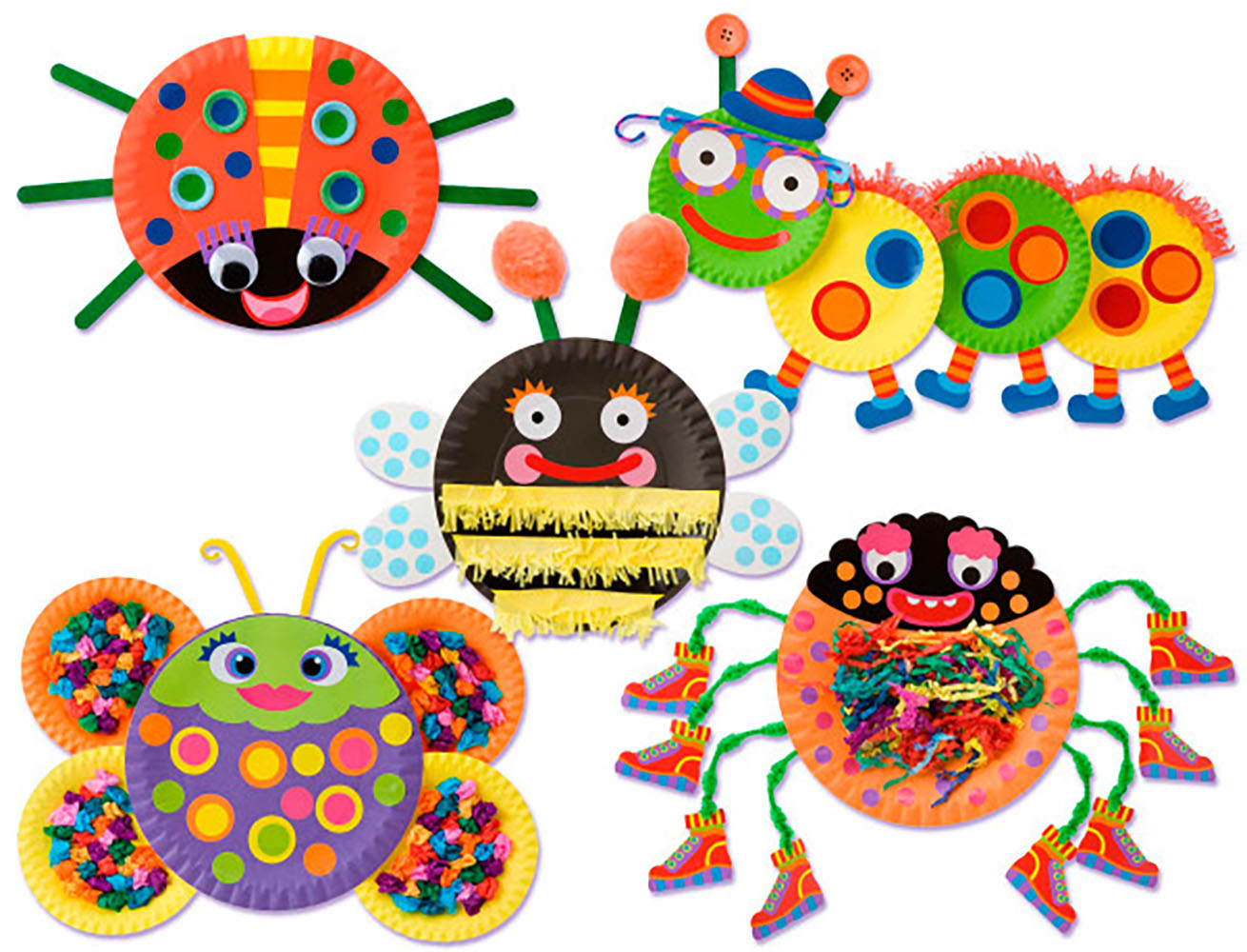 Paper Plate Bugs™