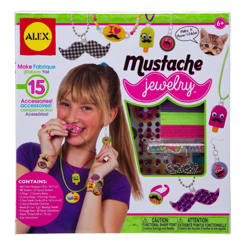Mustache Jewelry