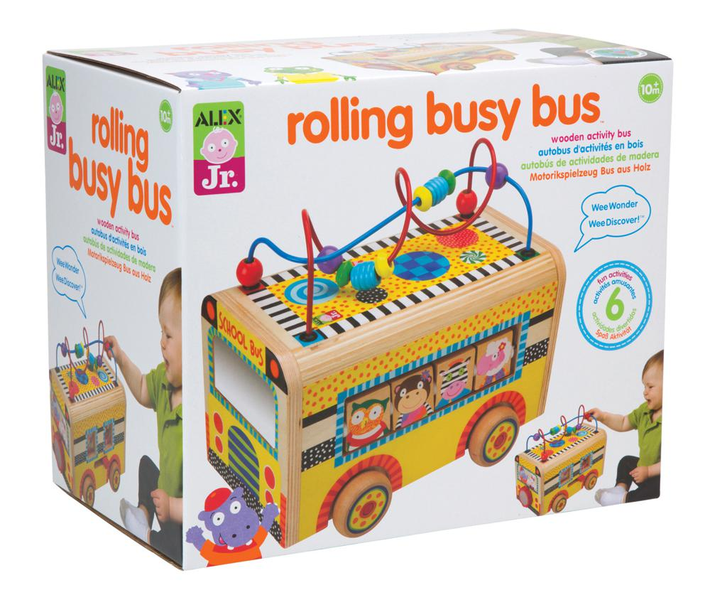 Rolling Busy Bus™