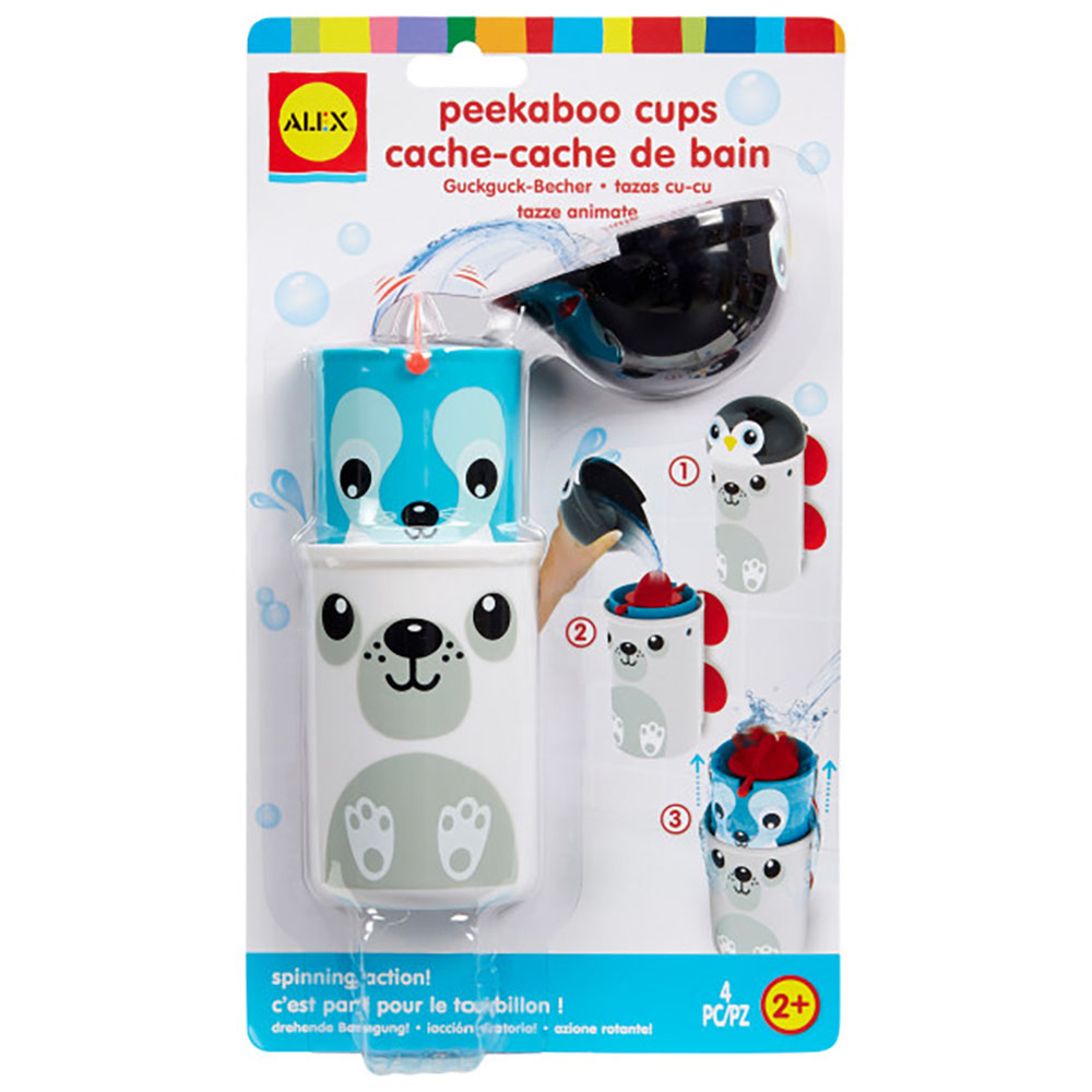 Peek-A-Boo Cups