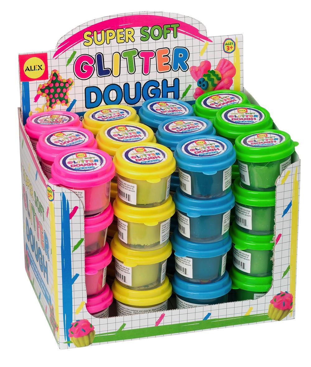 Mini Glitter Dough 1 OZ. (Display of 48)