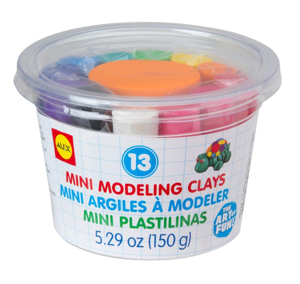 13 Mini Modeling Clays