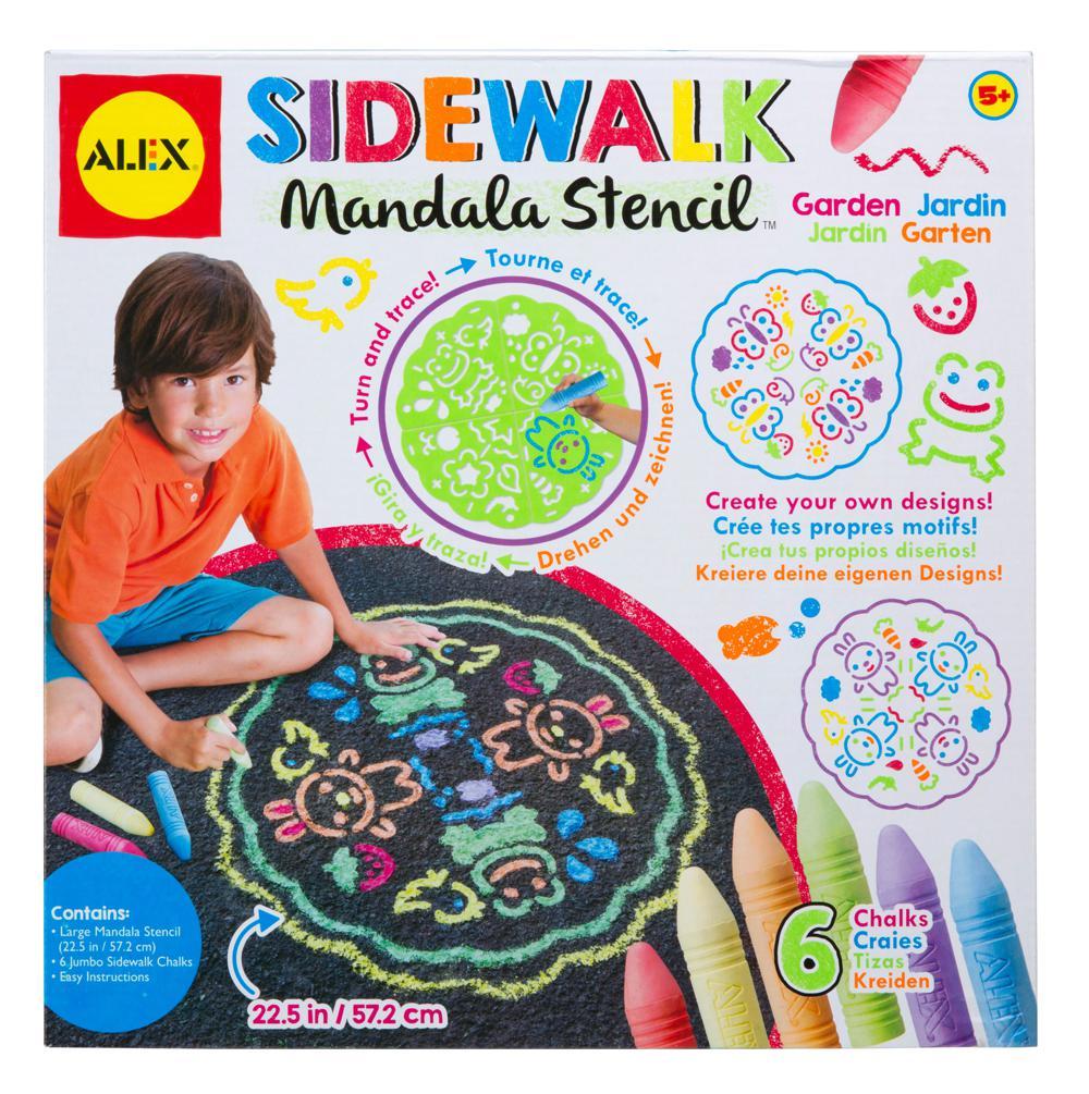 Sidewalk Mandala-Garden™