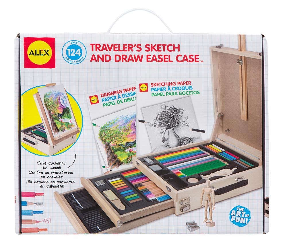 Traveler's Sketch & Draw Easel Case
