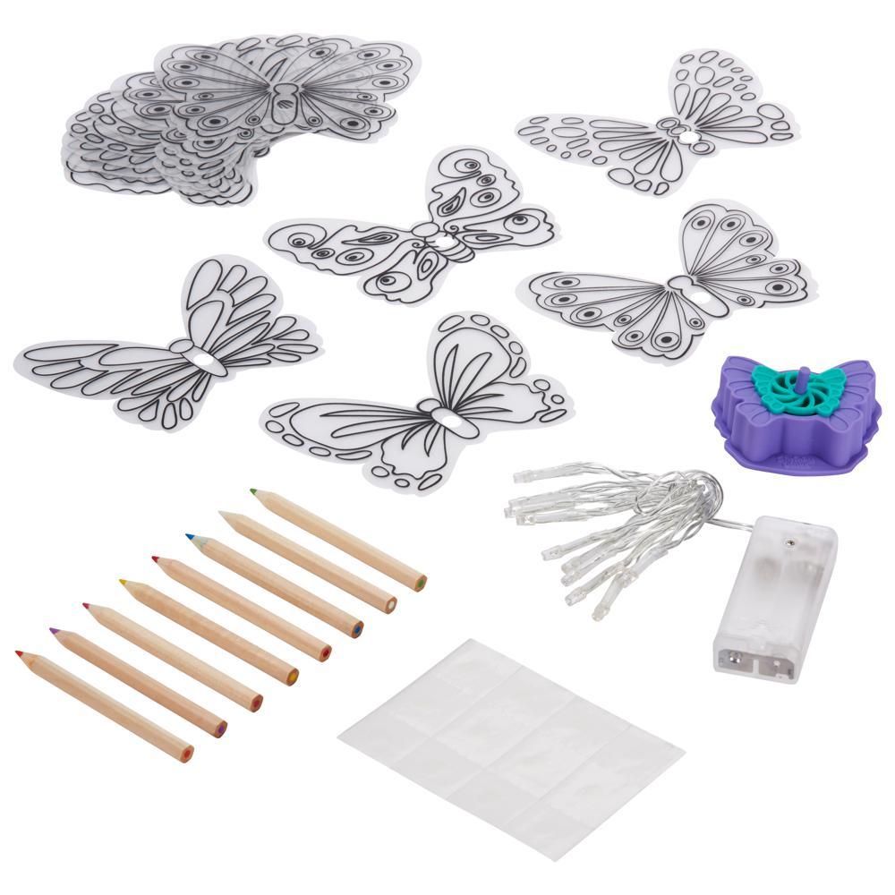 Shrinky dinks 3D Butterfly lights English version