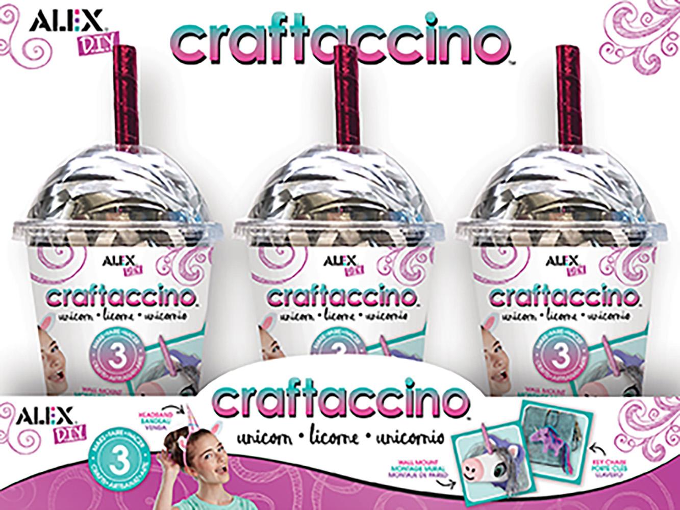 Alex - DIY Craftaccino Unicorn