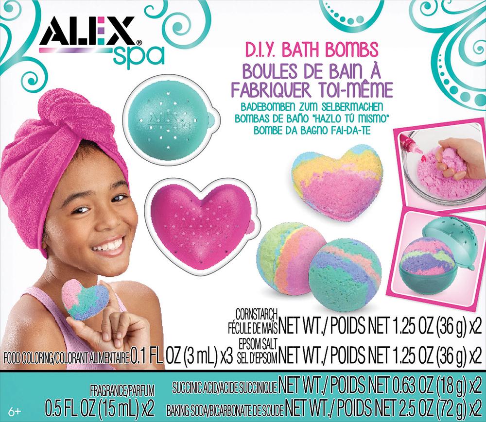 Alex - Spa Fizzy DIY Bath Bombs