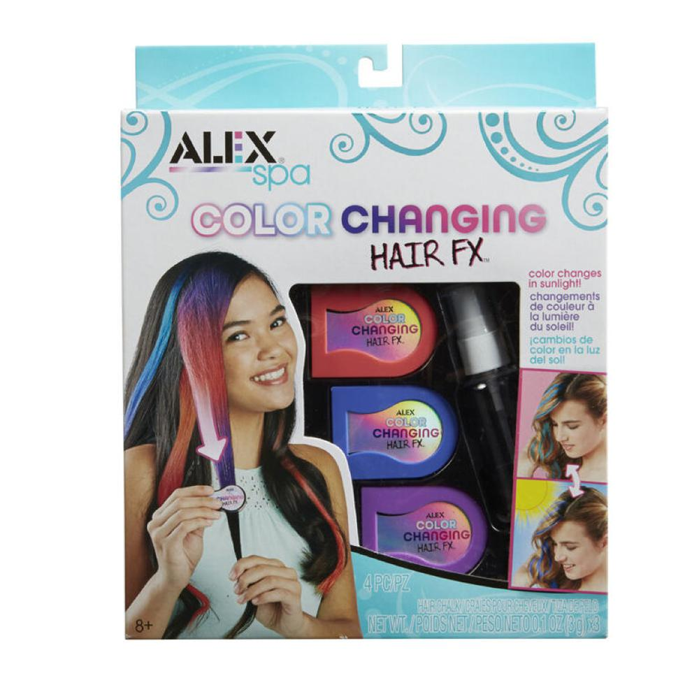 Alex - Spa Color changing hair Fx