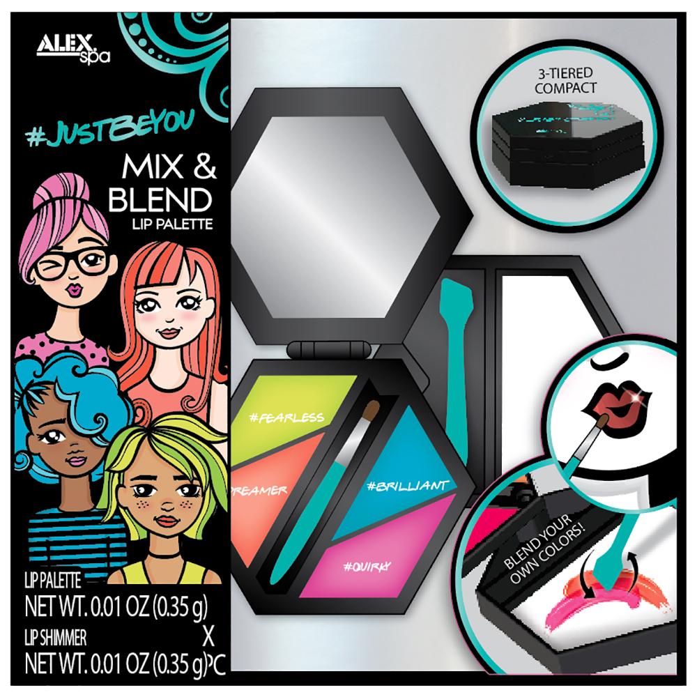 Alex - Spa  Justbeyou Mix & Blend Lip Palette