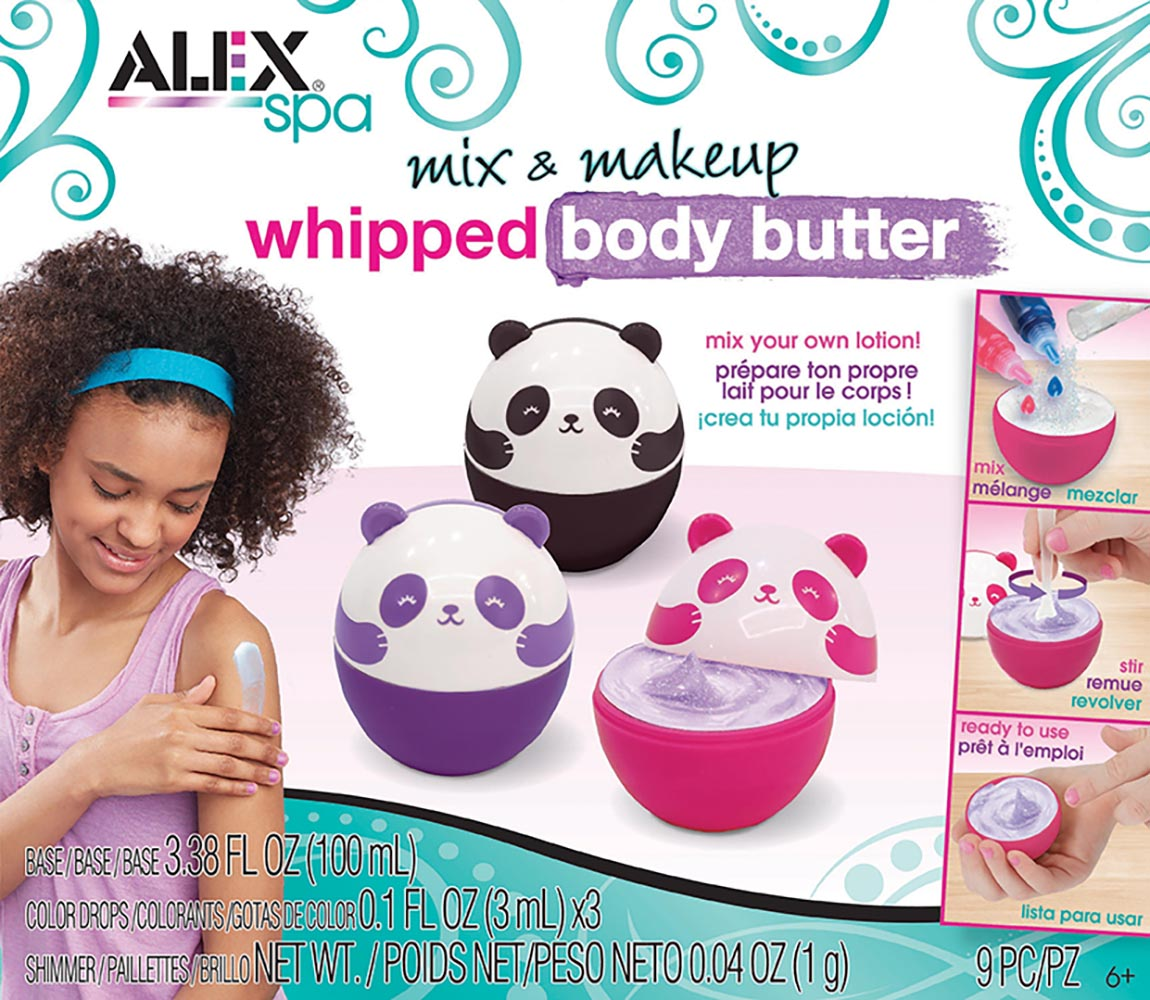 Alex - Spa Mix & makeup whipped body butter