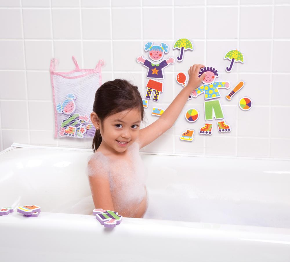 Stickers for the tub-Playtime pals
