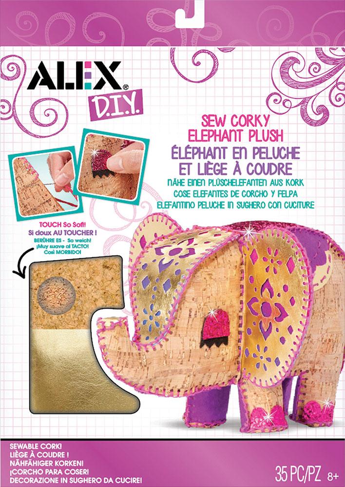 Sew Corky Elephant Plush