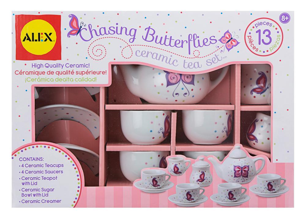 Chasing Butterflies Ceramic Tea Set™