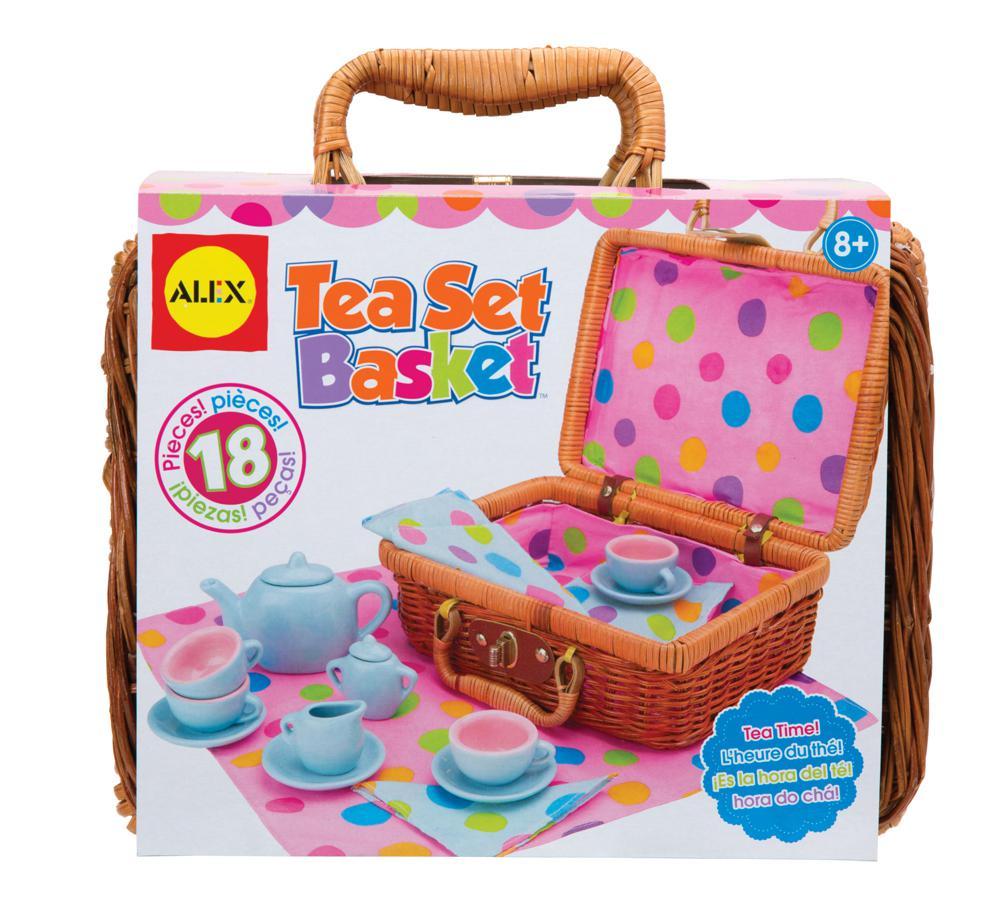 Tea Set Basket™ - English version