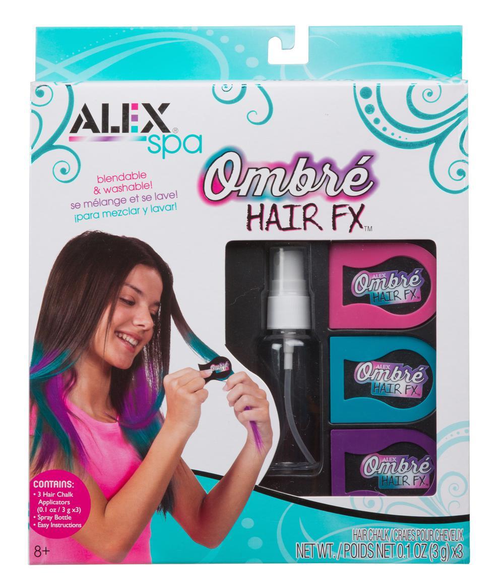 Craies pour cheveux ombré