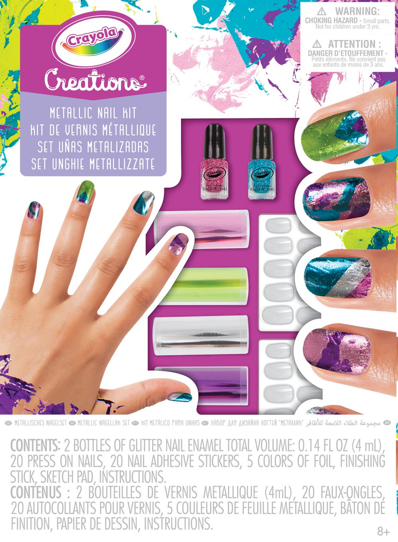Creations Metallic Nail Design