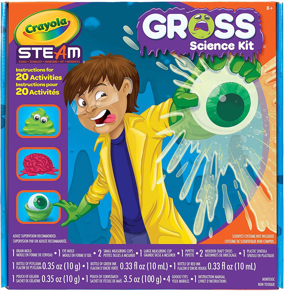 Crayola - STEAM Gross Science Lab