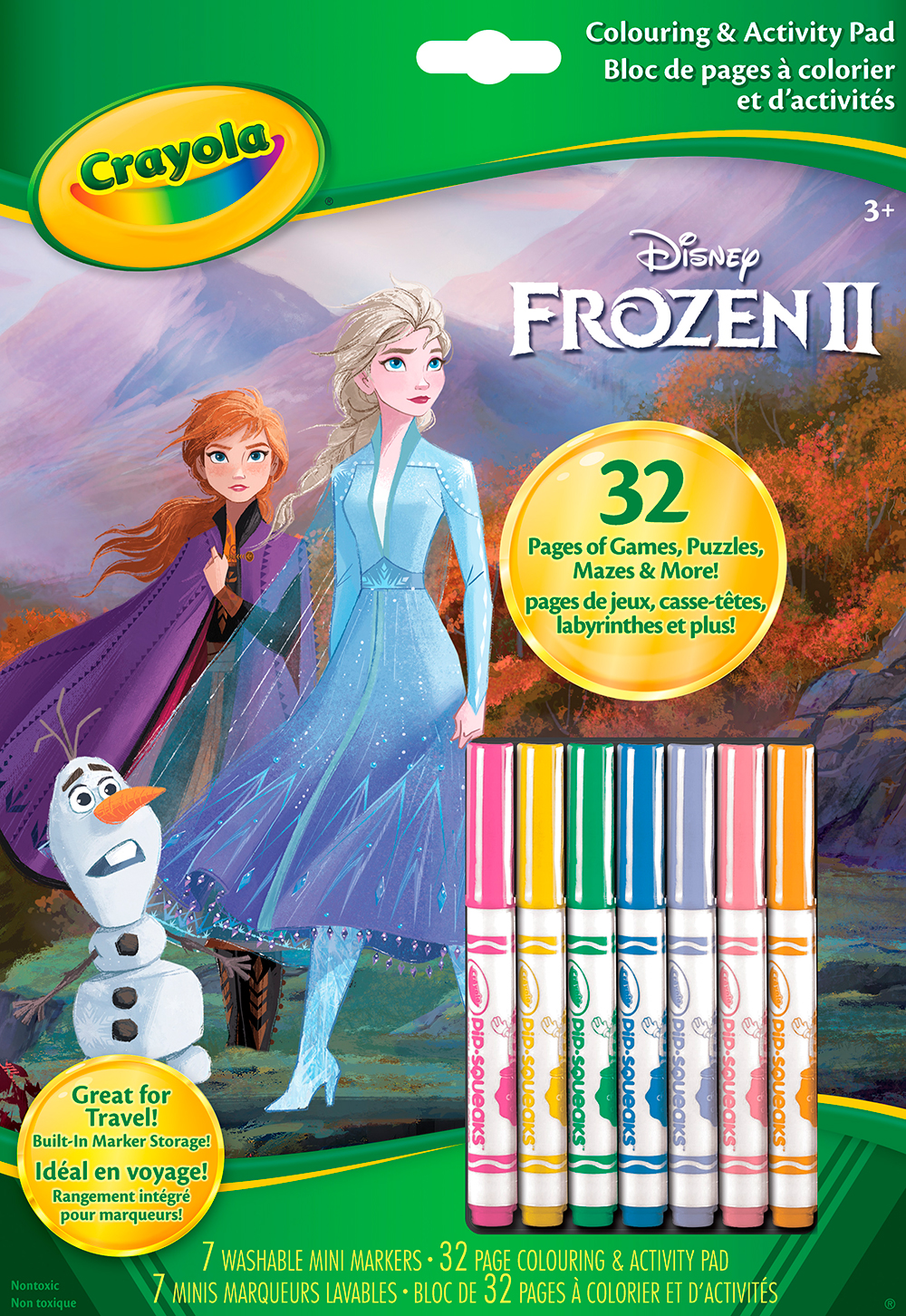 Frozen 2 - Colouring & Activity Pad
