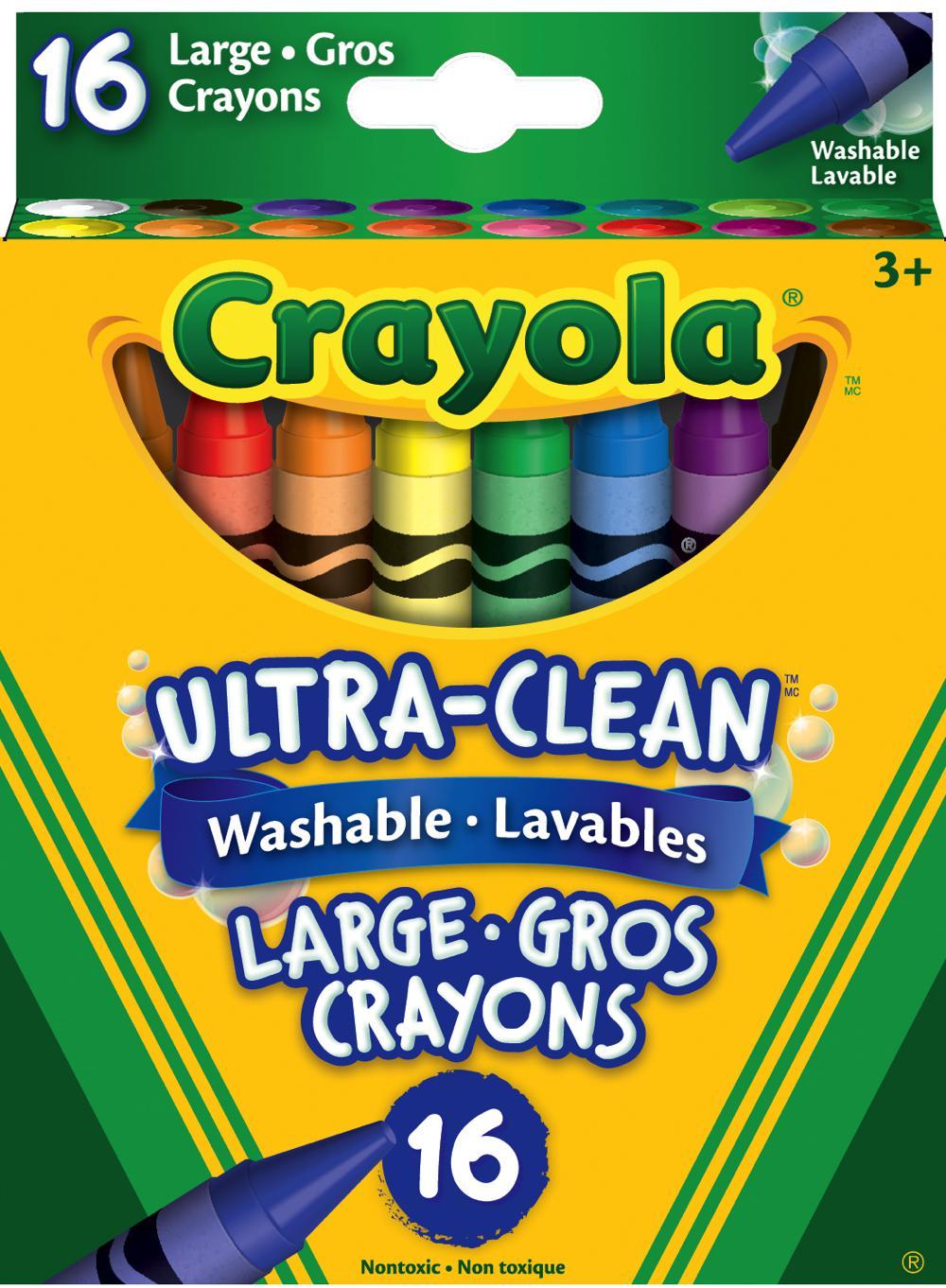 Crayola - 16 washable crayons