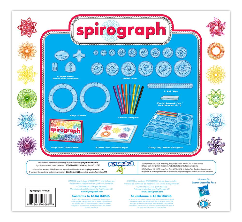 Spirograph Design set 50 pieces