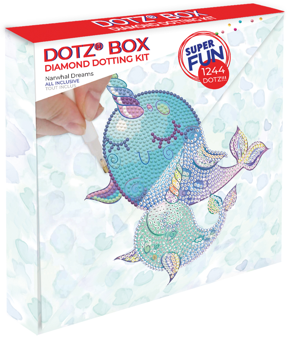 DOTZ BOX - Narwhal Dreams -Medium