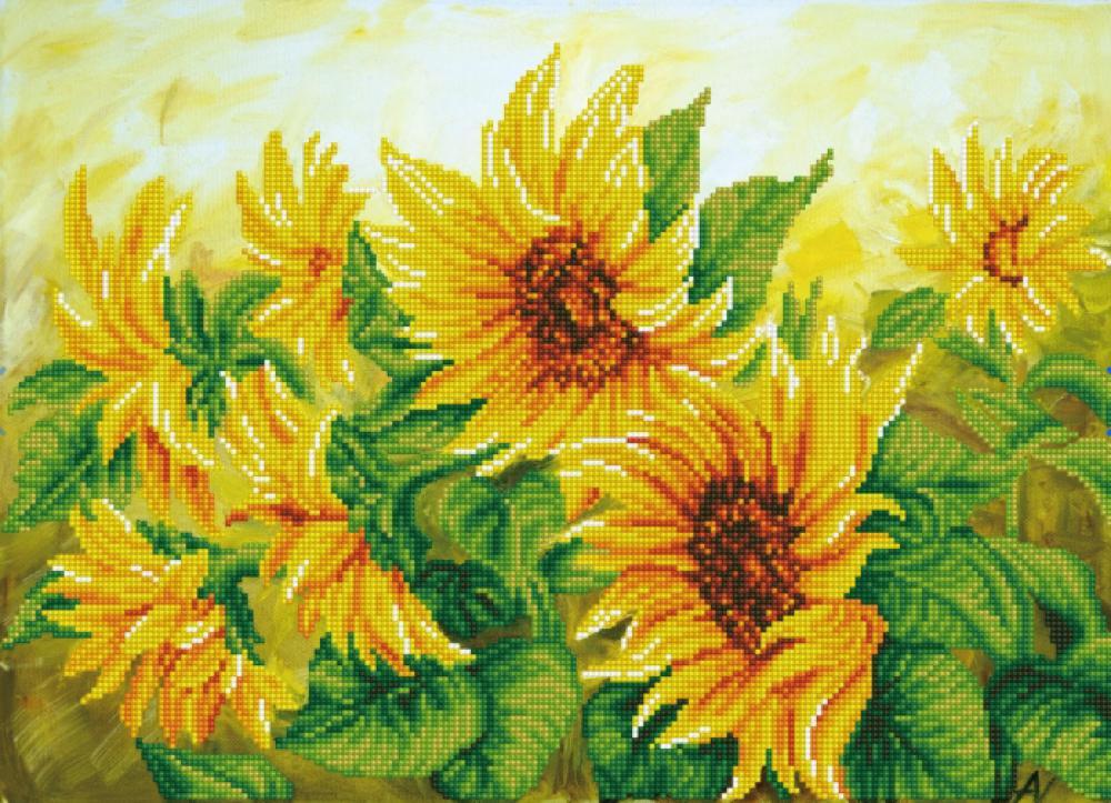 Diamond Dotz - Hazy Daze Sunflowers