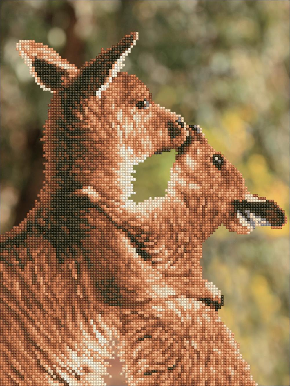 Diamond Dotz - Kissing Kangas
