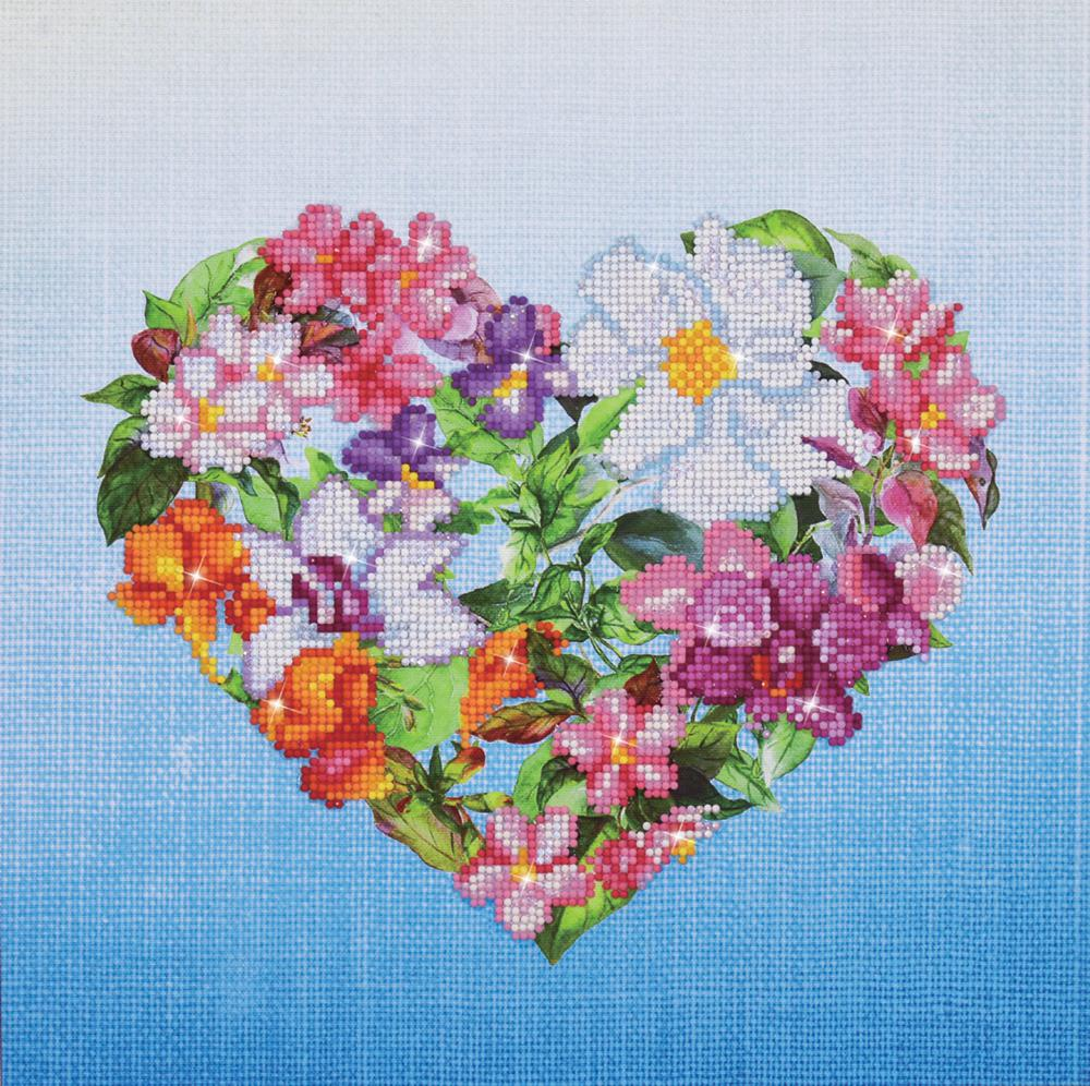 Diamond Dotz - Flower Heart
