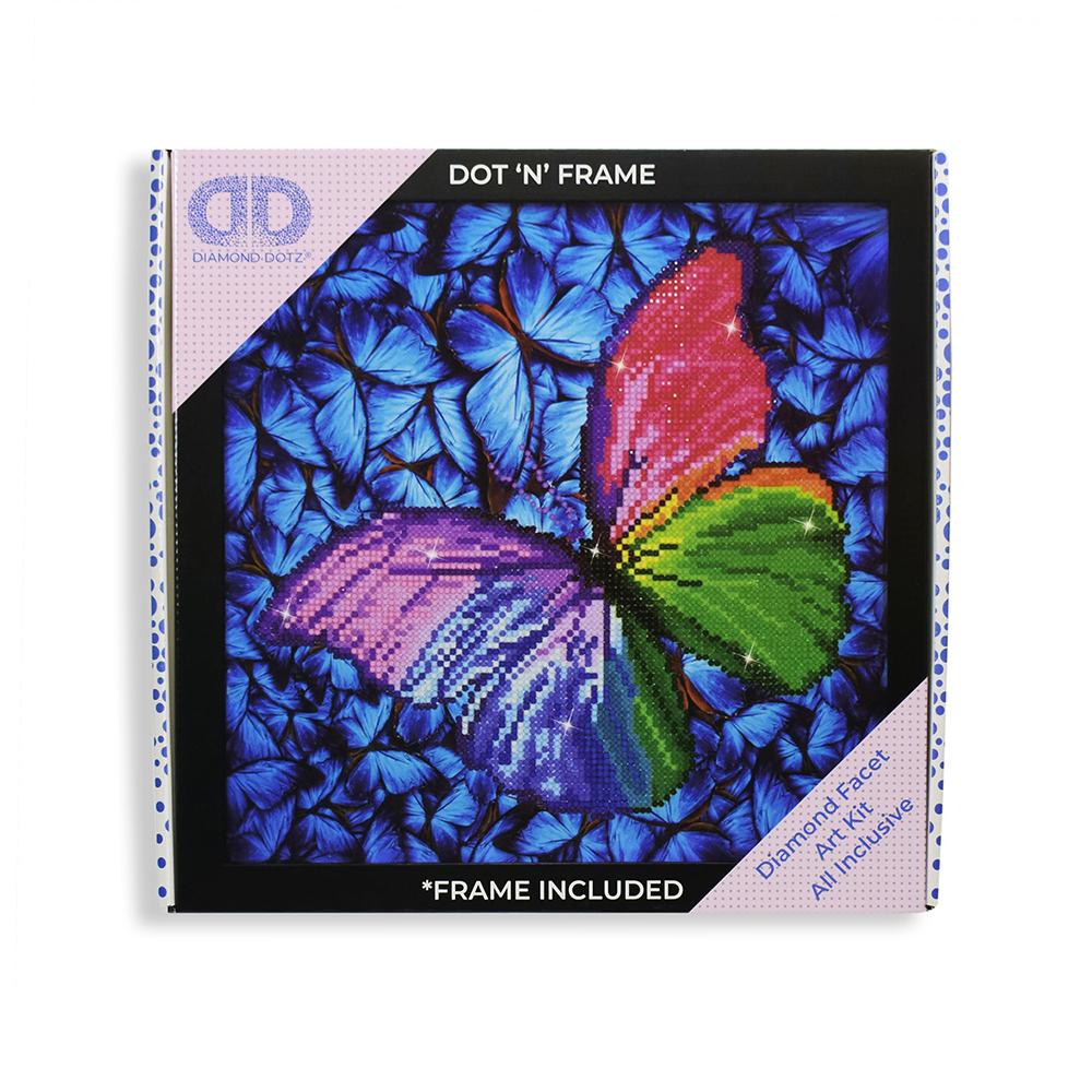 Diamond Dotz - Flutter by Pink (Framed)