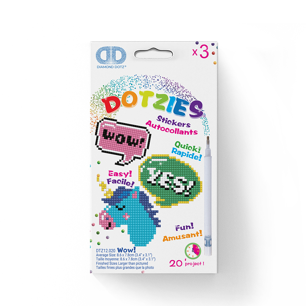DOTZIES - Wow Stickers