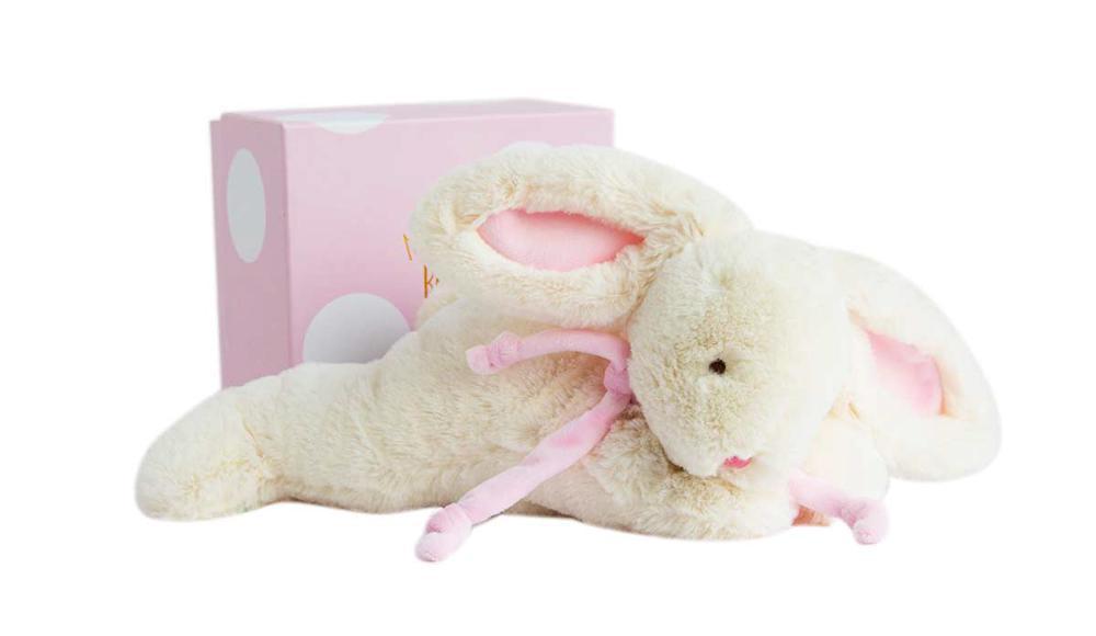 Doudou Tendre - Lapin Bonbon pink 30 cm