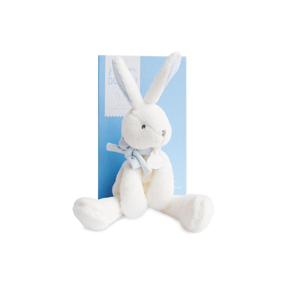 Doudou - Rabbit Chic 30 cm Blue