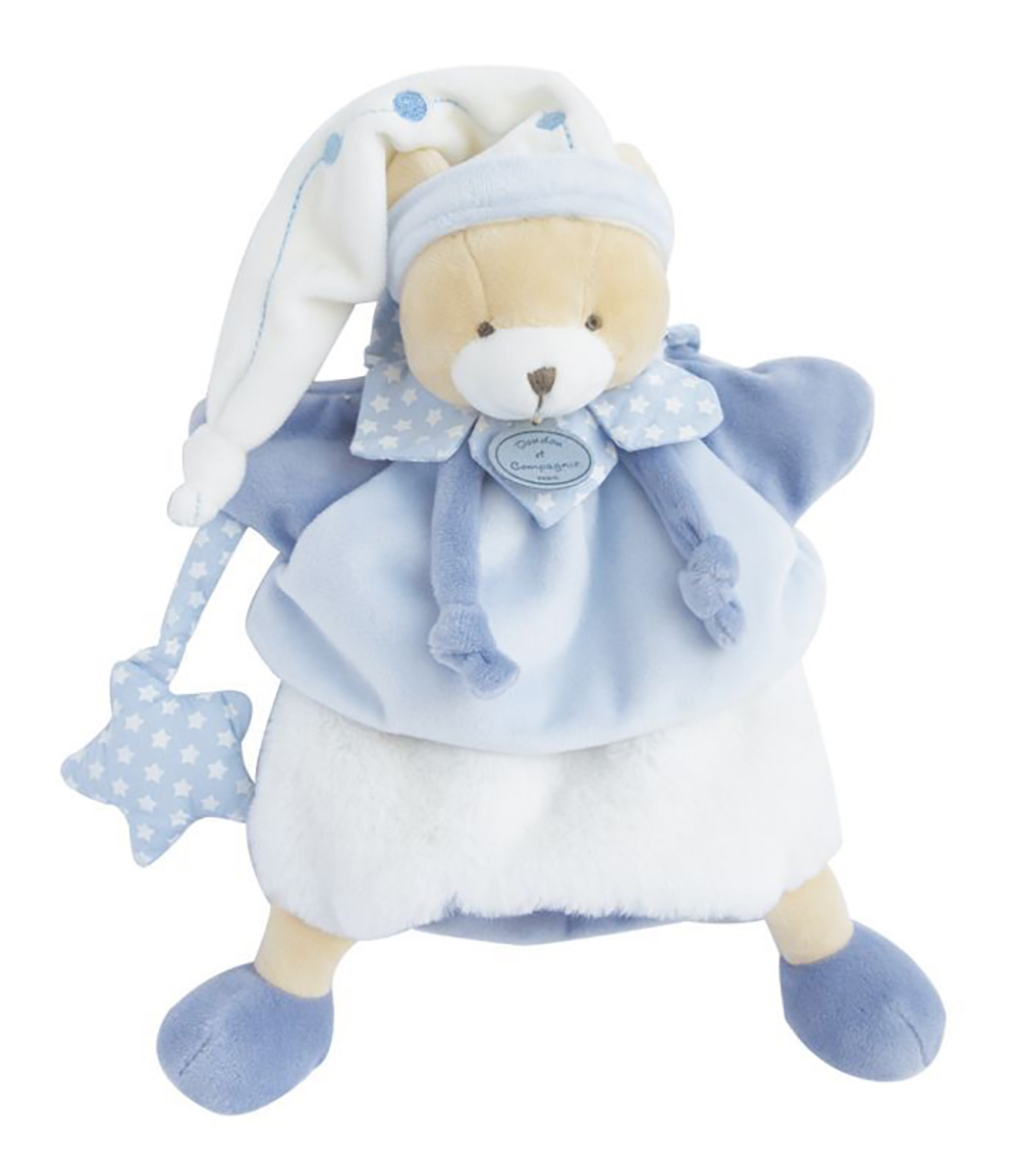 Marionnette Doudou-Ours Petit chou 28 cm