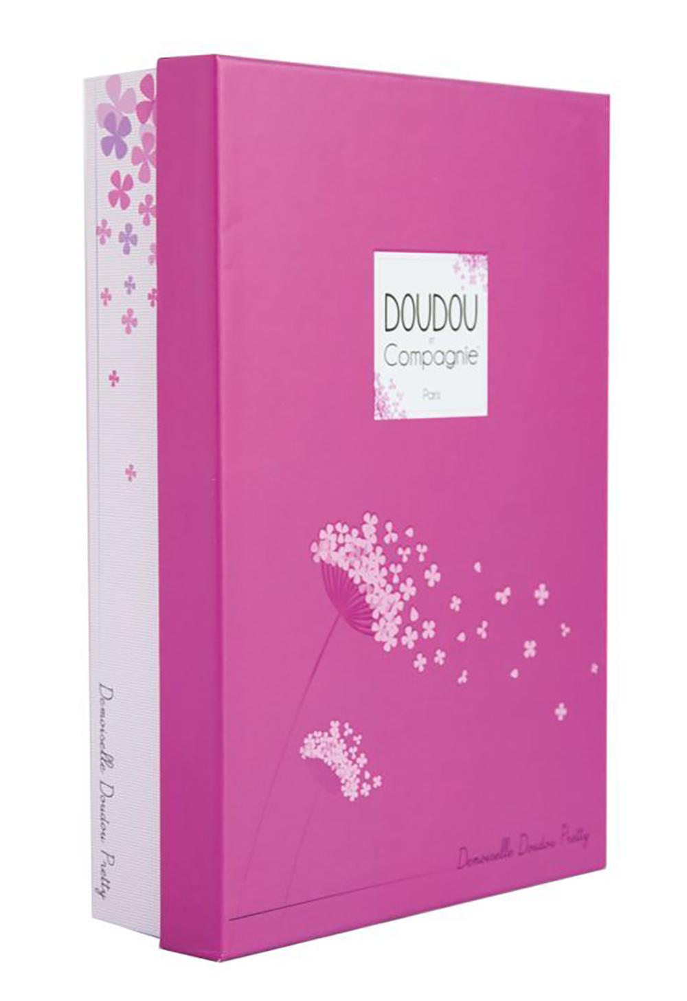 Demoiselles de Doudou-Pretty Rose 28 cm