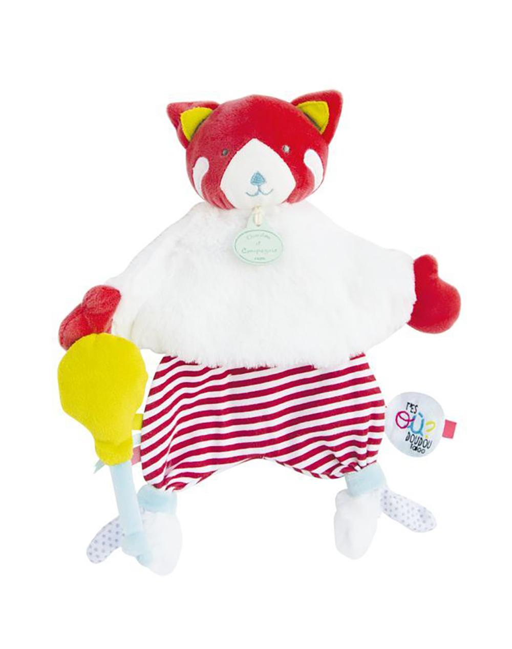 Doudou Tatoo-Renard et ballon