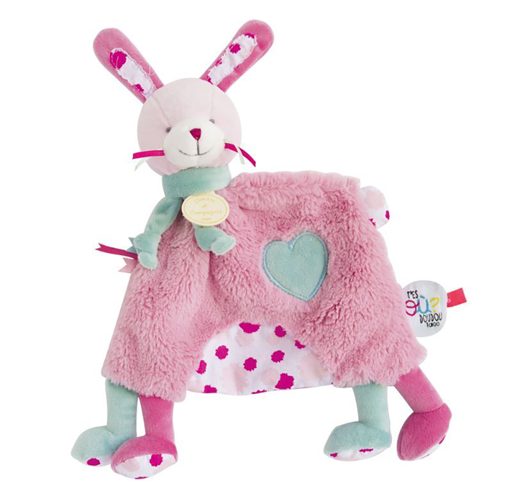 Doudou Tatoo-Papatte Lapin