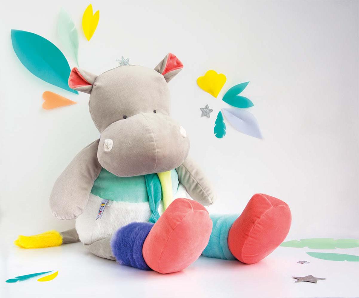 Tropi'cool-Hippo Pantin XXL 80 cm