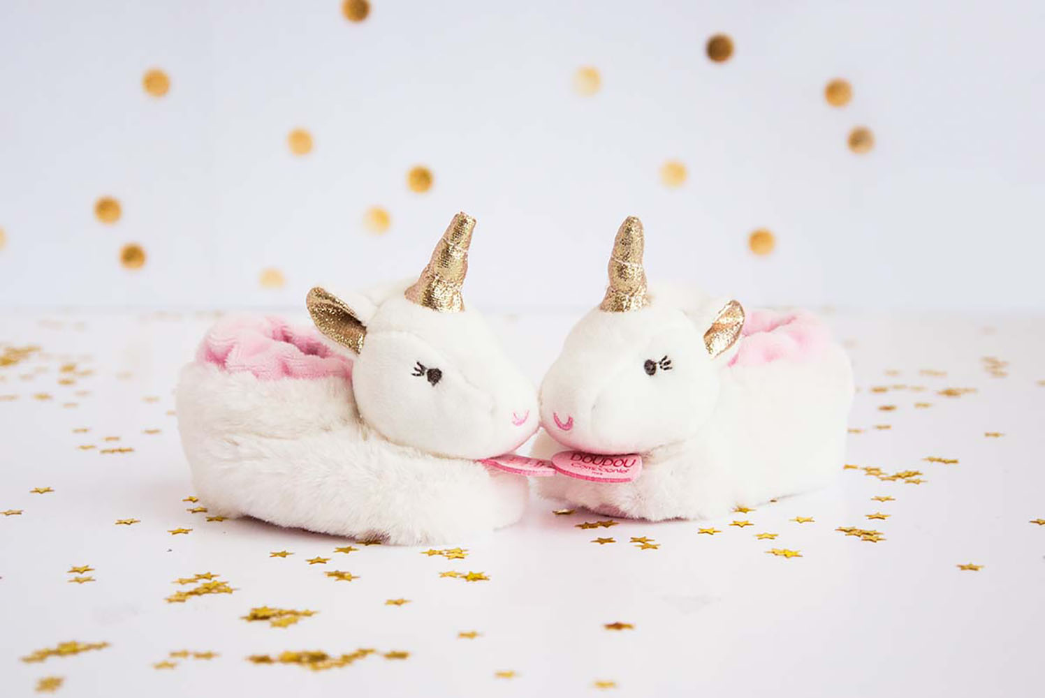 Ma jolie licorne - Botties with rattle (0-6 months)