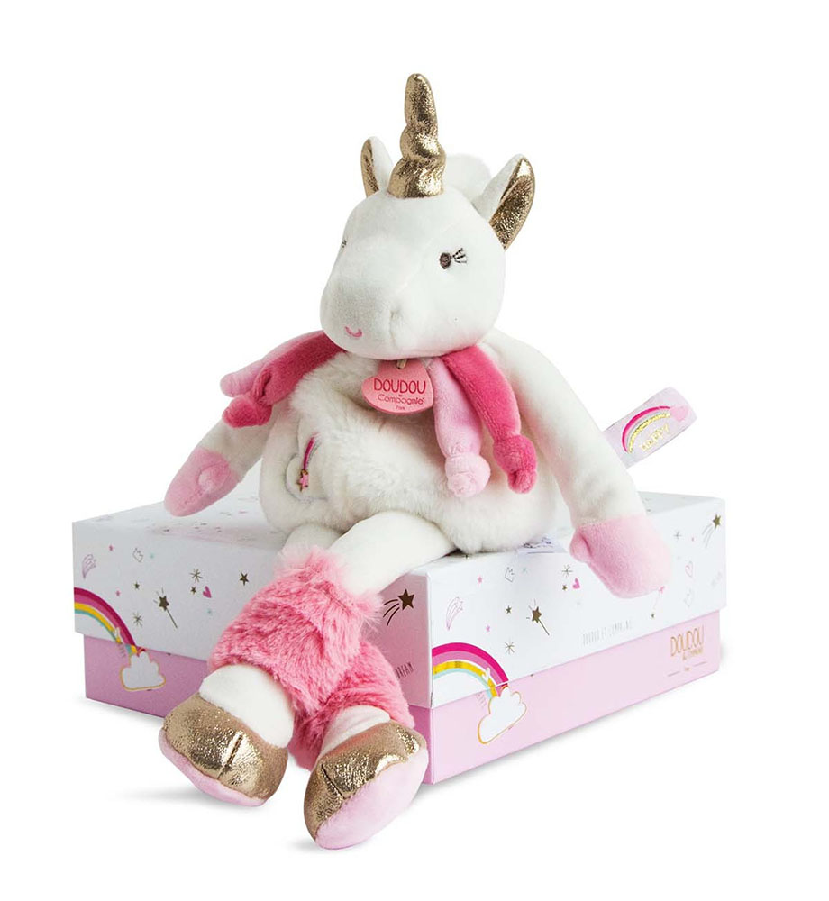 Ma jolie licorne-Peluche Pantin 22 cm