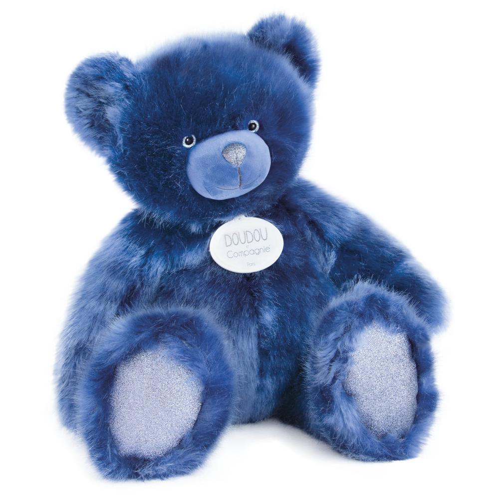 Ours Collection bleu nuit XL 60 cm