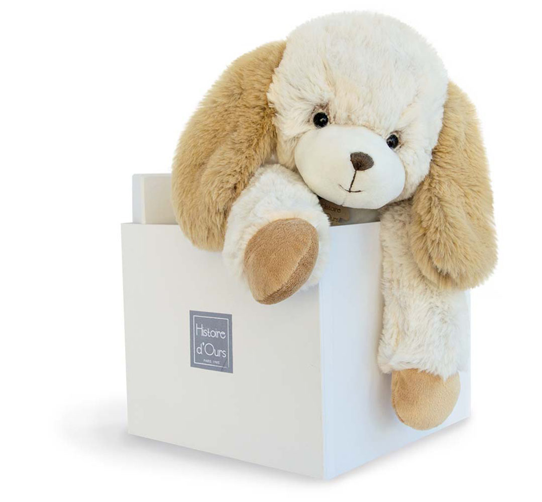 Softy Collection-Dog Off-White 45 cm