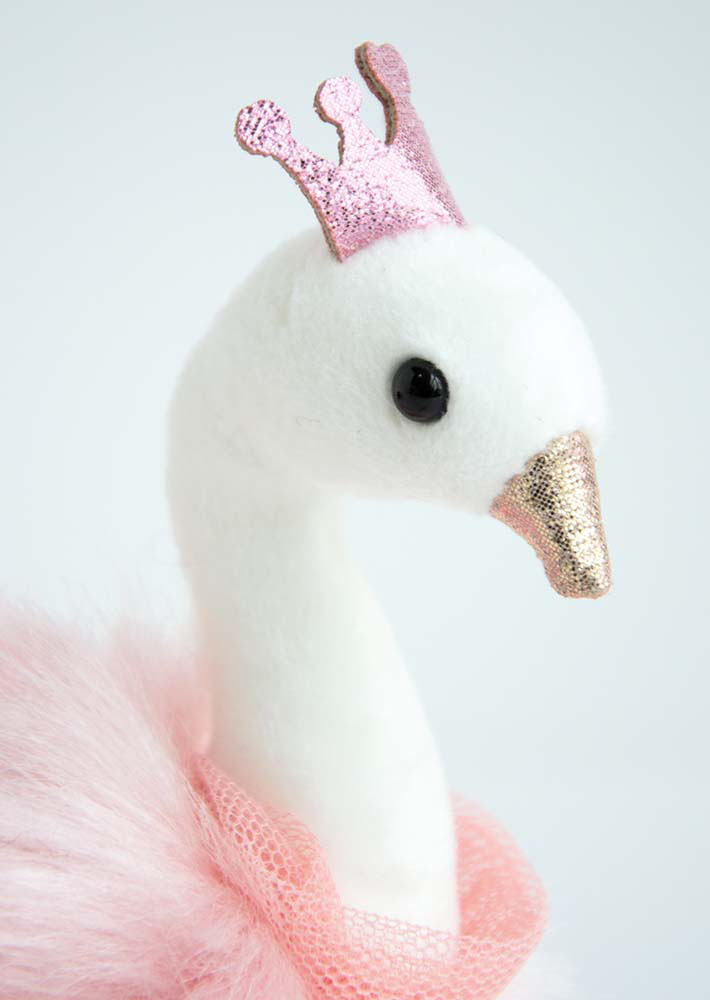 Je rêve! - Key ring Swan Pink 5 inches