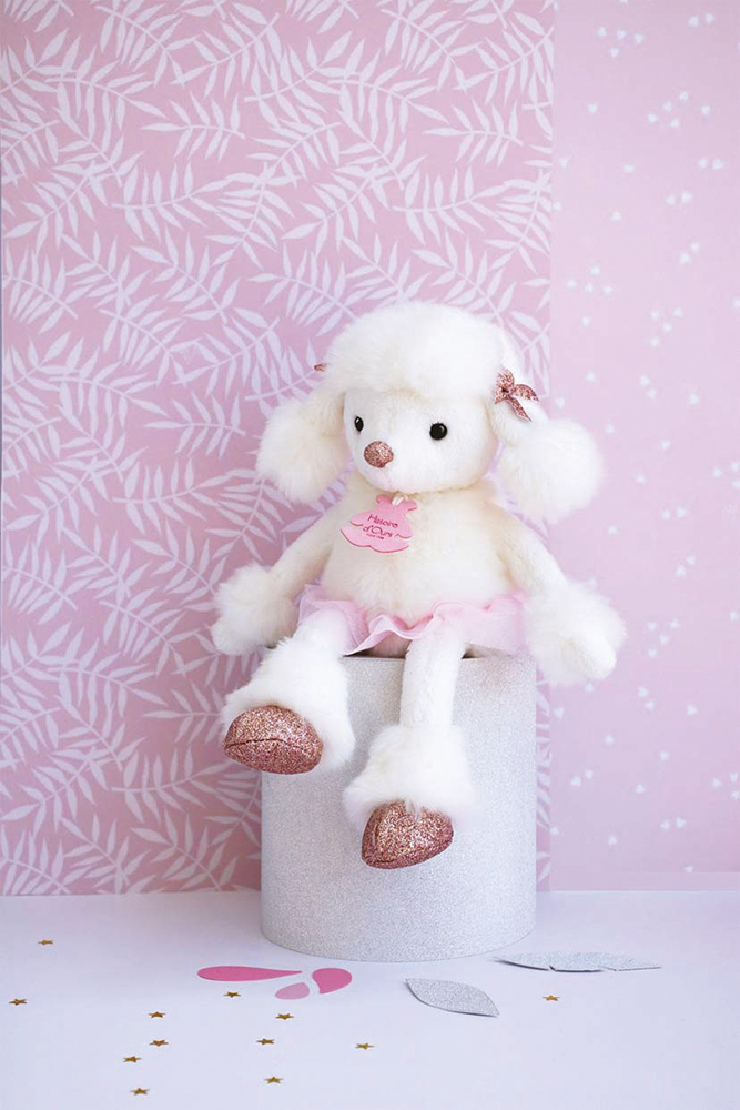 Happy Family Twist - Roxane the White Poodle 10 inches