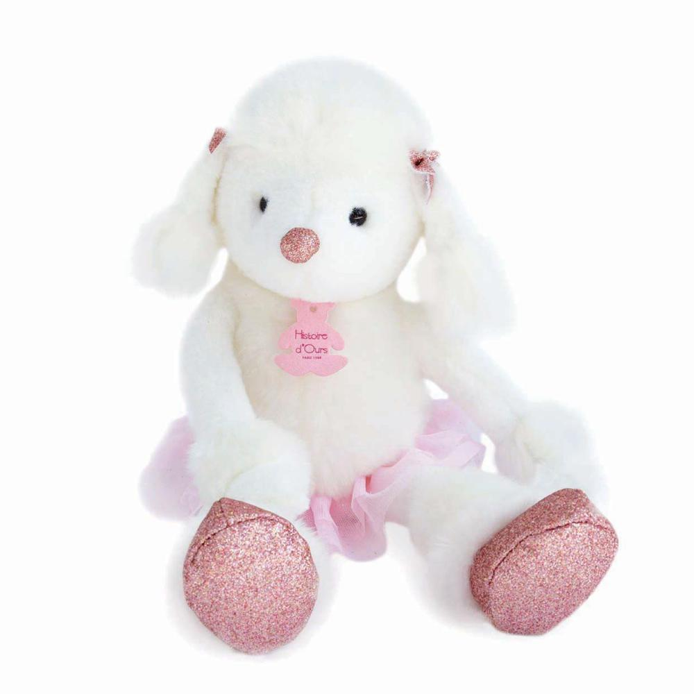 Happy Family Twist - Roxane the White Poodle 14 inches