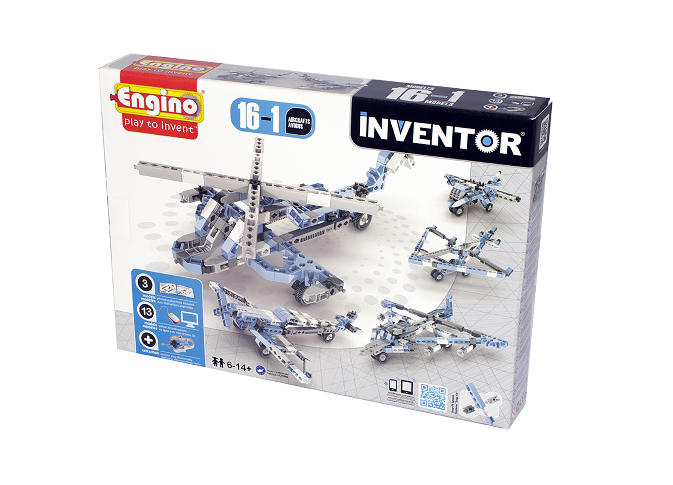 Inventor 16 Models Aircrafts