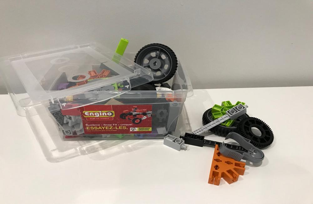 Engino Small parts bin