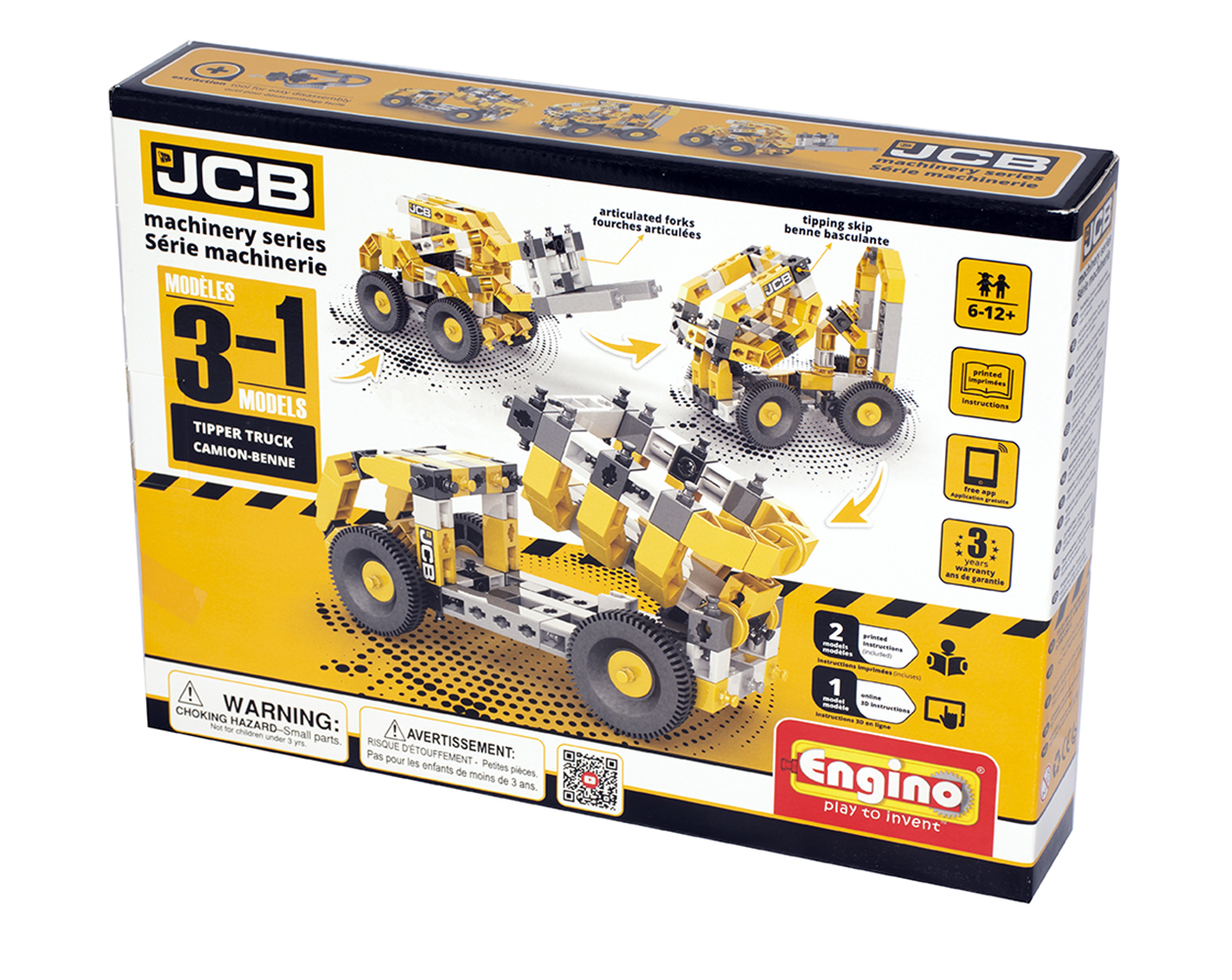 JCB Construction Series Camion Benne