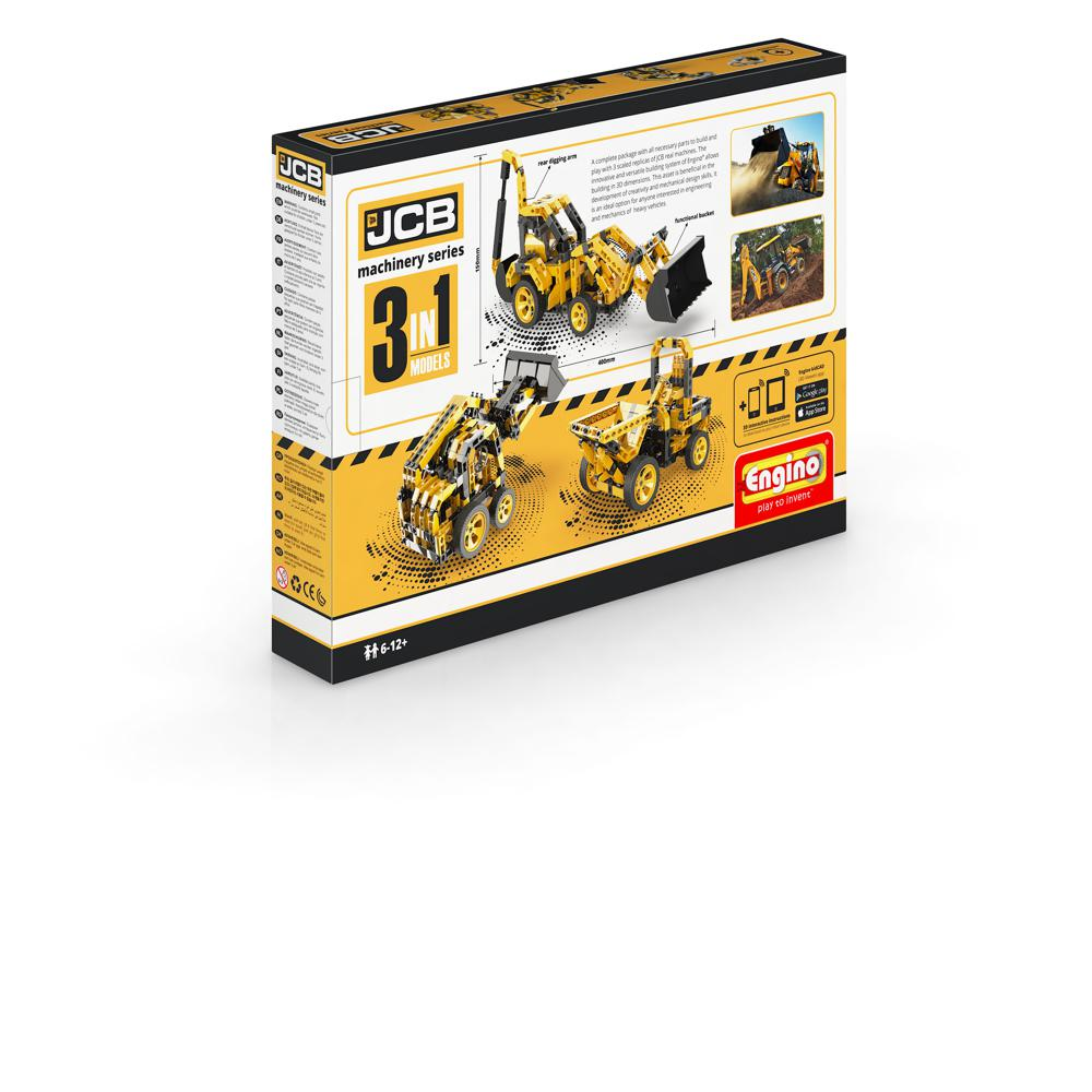 JCB Construction Series Backhoe Loader