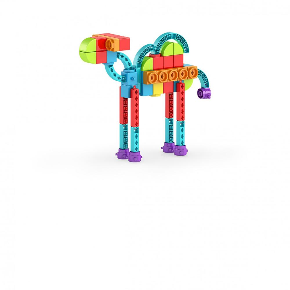 Qboidz 8 in 1 Multimodels Alien Robot 62 pieces